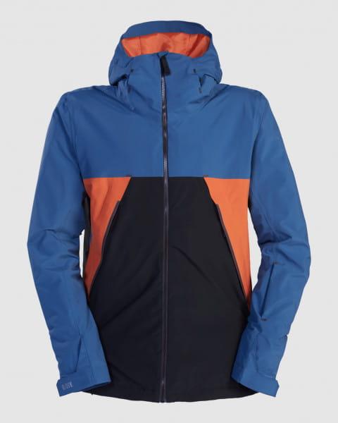 Серый мужская сноубордчиеская куртка expedition