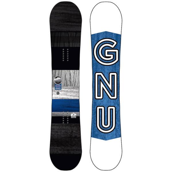 Голубой сноуборд gwo