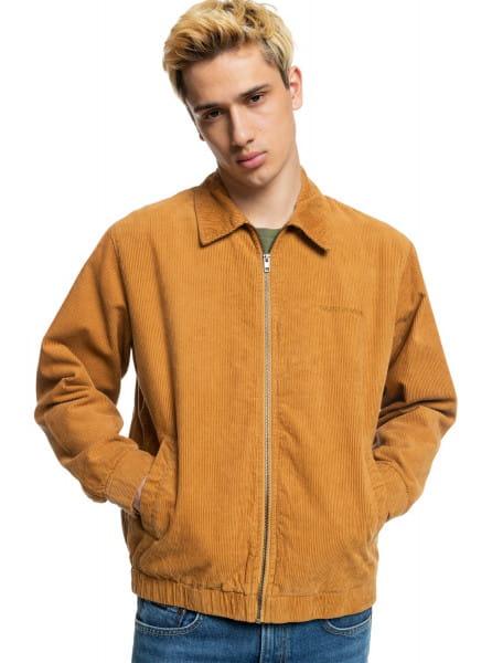 Коричневый вельветовая куртка transeasonal