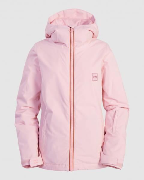 Серый женская сноубордчиеская куртка sula