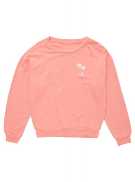 Розовый свитшот surfing by moonlight