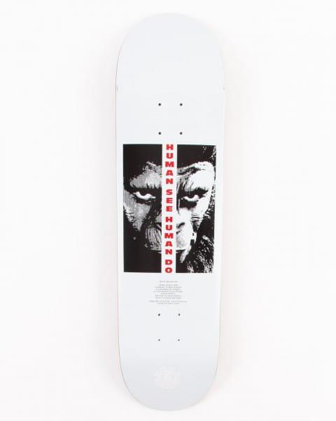 """Коричневый дека для скейтборда 8.5"""" pota arise"""