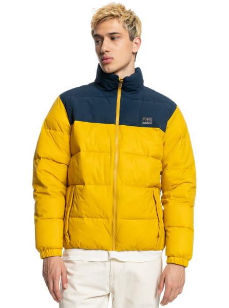Желтый куртка wolfs shoulders