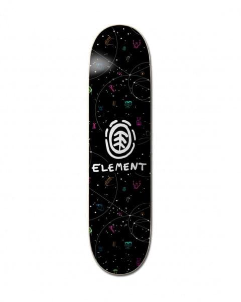 """Черный дека для скейтборда 8"""" galaxy"""