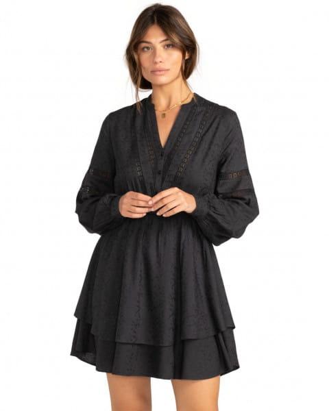 Черный женское платье blue song