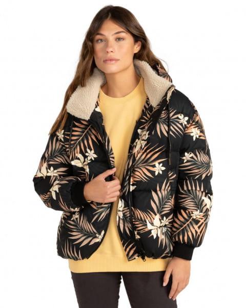 Бежевый женская дутая куртка back in town