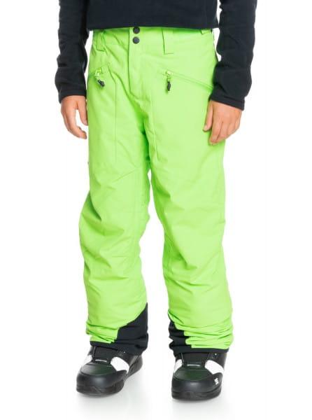 Коричневый детские сноубордические штаны boundry 8-16