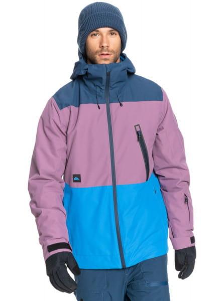 Синий сноубордическая куртка sycamore