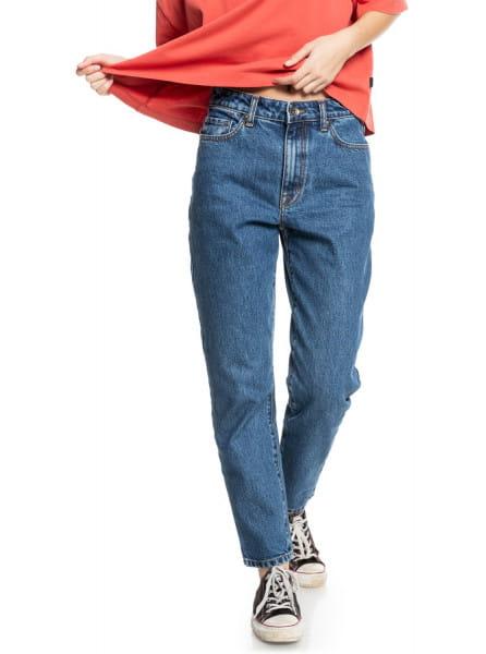 Фиолетовый джинсы over sun mom fit
