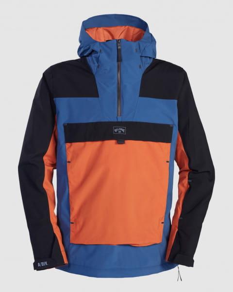 Серый мужская сноубордчиеская куртка quest
