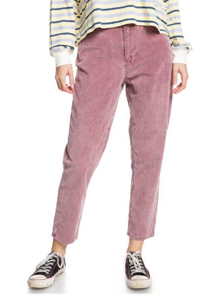 Фиолетовые вельветовые брюки timeless classic mom fit