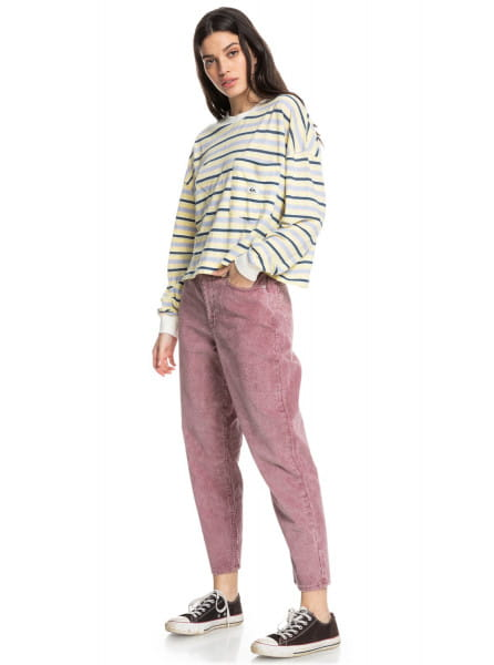 Жен./Одежда/Джинсы и брюки/Прямые брюки Вельветовые брюки Timeless Classic Mom Fit