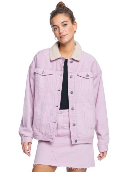 Розовый джинсовая куртка great time