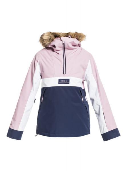 Розовый детская сноубордическая куртка shelter