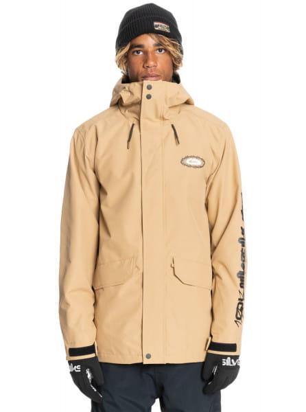 Оранжевый сноубордическая куртка in