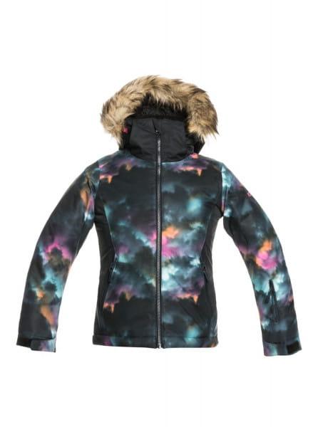 Коричневый детская сноубордическая куртка jet ski