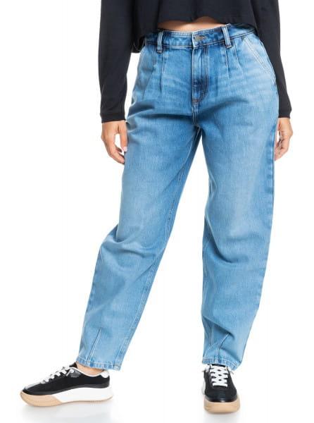 Голубой джинсы balmy sky mom fit
