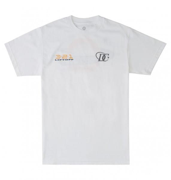 Белый футболка liftoff