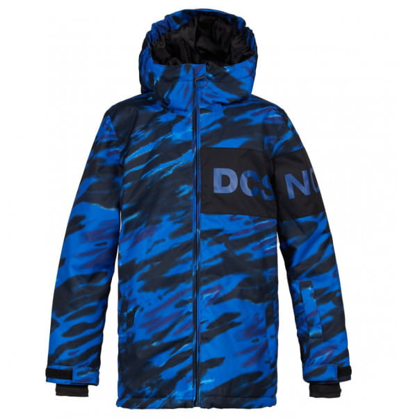 Коричневый детская сноубордическая куртка propaganda