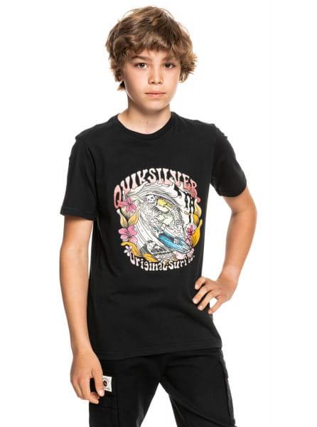 Детская футболка Wavey Skull