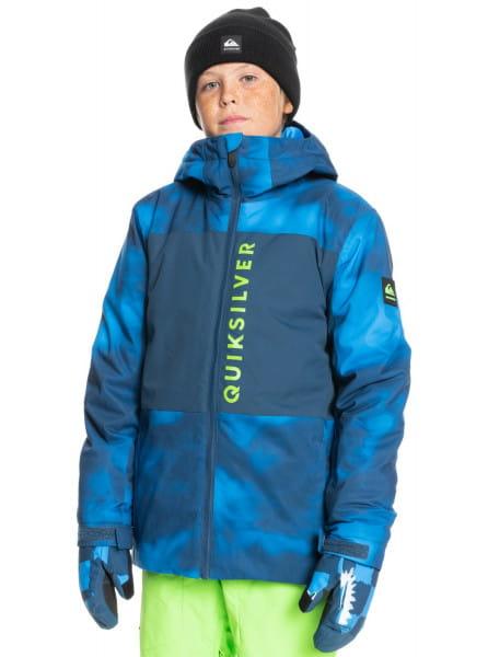 Коричневый детская сноубордическая куртка side hit