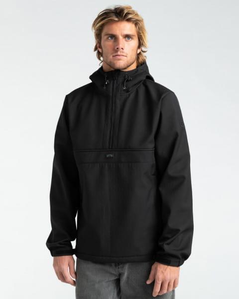 Бордовый мужская водостойкая куртка boundary