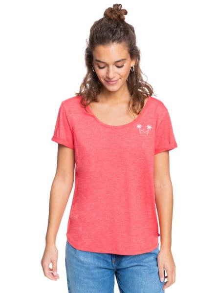 Розовый футболка cocktail hour