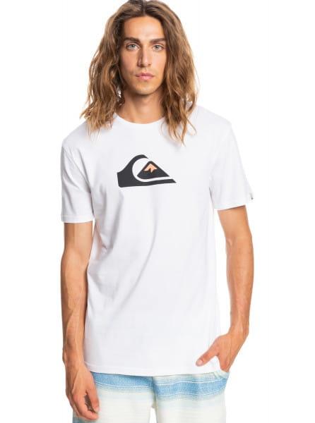 Белый футболка comp logo