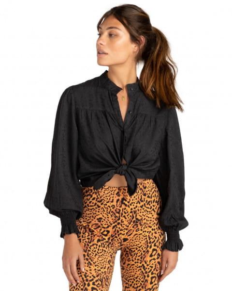 Коралловый женская блузка by night
