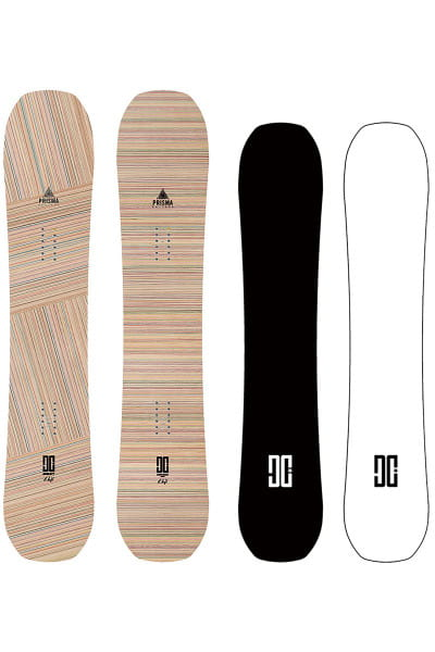 Белый сноуборд emb
