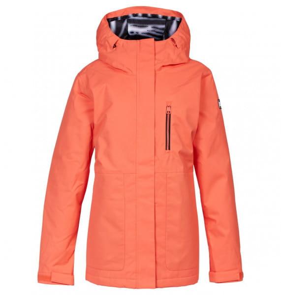 Оранжевый сноубордическая куртка harmony