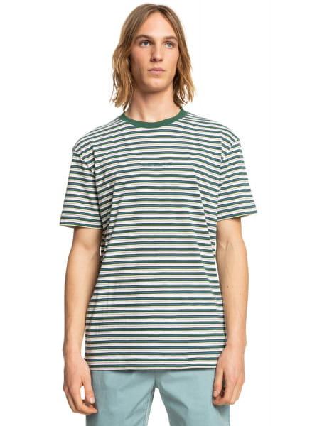Зеленый футболка shred that