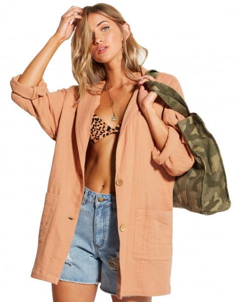 Оранжевый женская куртка off duty