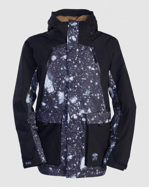 Серый мужская легкая сноубордическая куртка reach