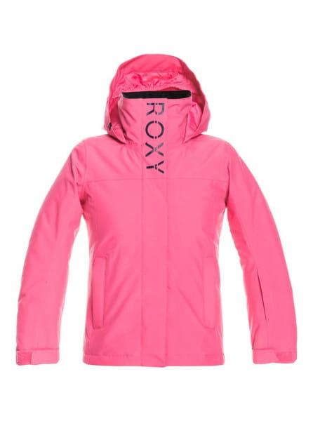 Розовый детская сноубордическая куртка galaxy