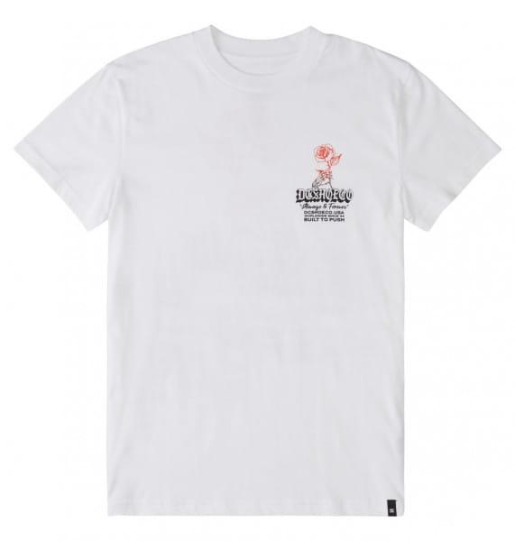 Белый футболка always and forever