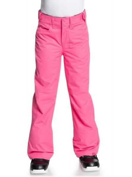 Розовый детские сноубордические штаны backyard