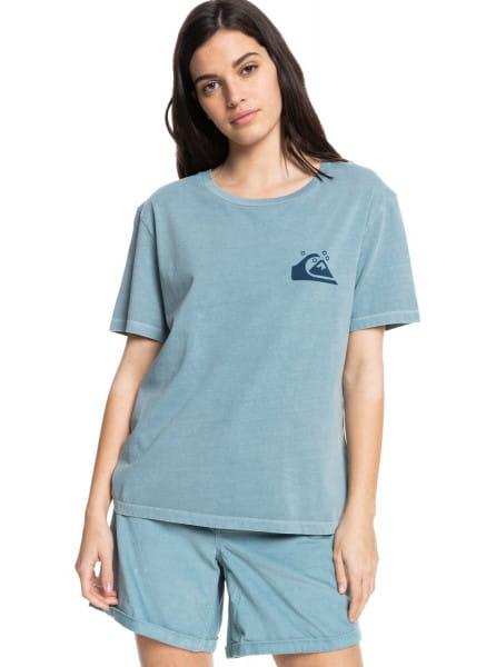 Бирюзовый футболка из органического хлопка standard