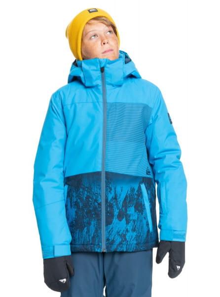 Коричневый детская сноубордическая куртка silvertip