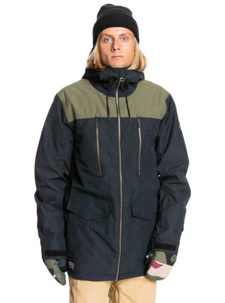Серый сноубордическая куртка fairbanks