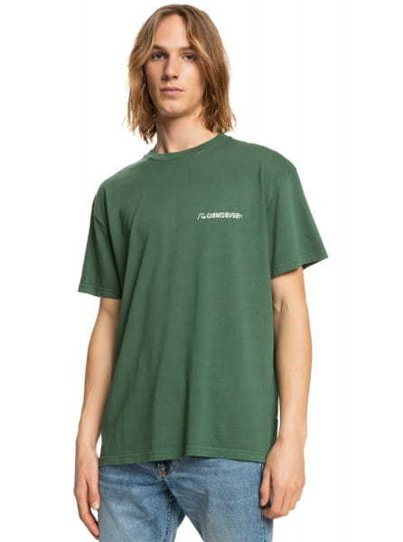 Зеленый футболка platinum