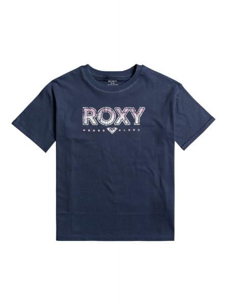 Синий детская футболка younger now