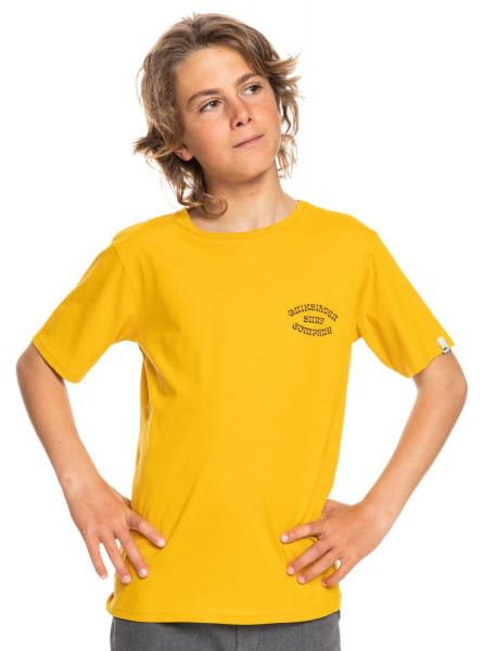Желтый детская футболка wild card