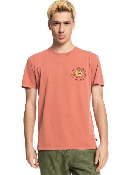 Оранжевый футболка silent dusk