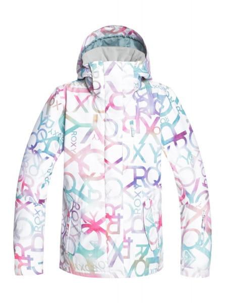 Белый сноубордическая куртка roxy jetty