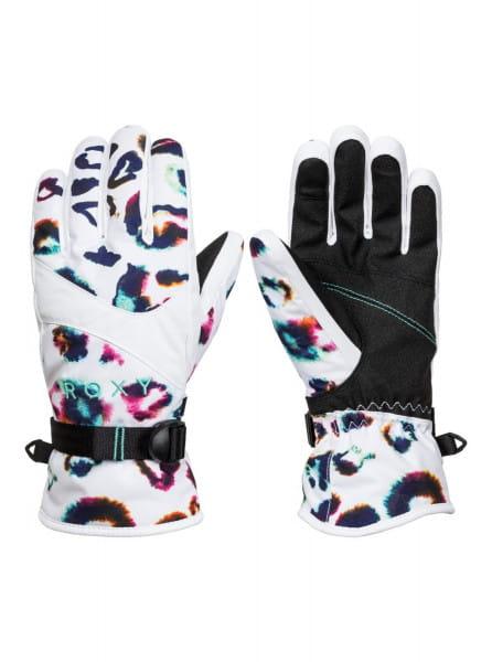 Синие сноубордические перчатки roxy jetty