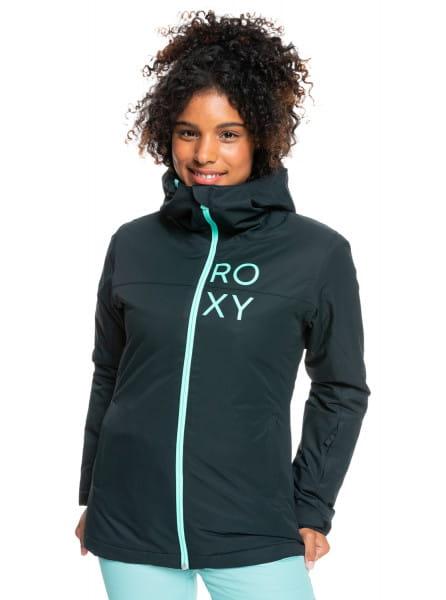Зеленый сноубордическая куртка galaxy