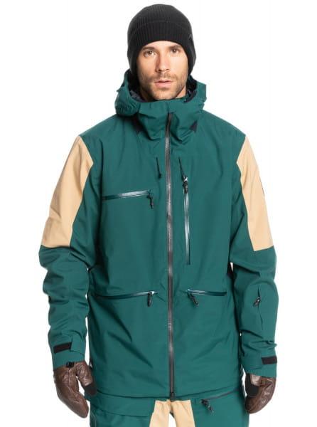 Серый сноубордическая куртка travis rice stretch