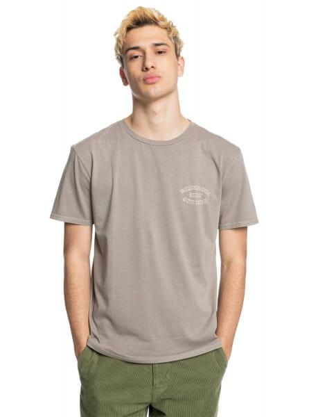 Коричневый футболка wild card