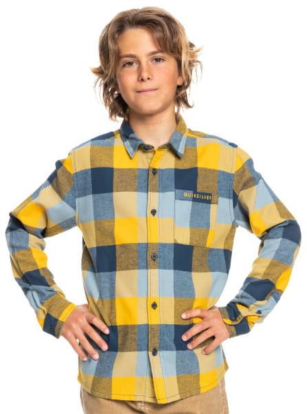 Желтый детская рубашка с длинным рукавом motherfly
